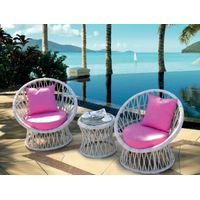 Coffee Shop Furniture, Outdoor Rattan/Wicker Furniture, Dining Table And Chair