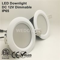 ETL Showcase Ceiling Recessed 7W LED Downlight