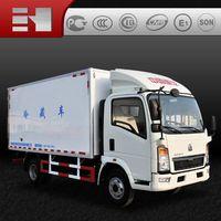 Chinese sinotruk howo refrigerator truck low price sale thumbnail image