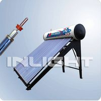 Compact heat-pipe Solar Water Heater