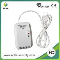 Explosive Gas Alarm Gas Detector with Shut off Solenoid Valve optional