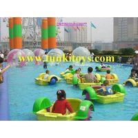 Aqua paddler boat kids hand boat water boat pedal boat thumbnail image