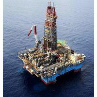 Sea Oil drilling rig