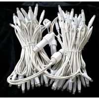 240V LED string light rubber cable outdoor use