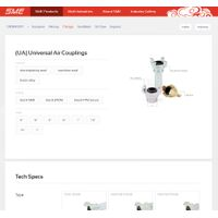 UA Universal Crowfoot Chicago Coupling