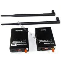 3 watt Long range(5KM) wireless AV transmitter and receiver kit thumbnail image