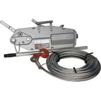 Wire Rope Pulling Hoist with Aluminium Body 0.8t-5.4t