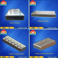 Aluminium Extrusion Profiles of Heat Sink for Power Amplifier