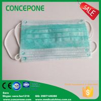 3 ply non woven face masks for surgical use