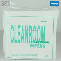 good quality disposable polycellulose industrial lint free cleanroom wiper