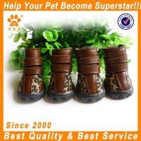 fashion retro sexy leopard dog boots XB1411