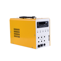 15w DC solar power system with radio and card reader function