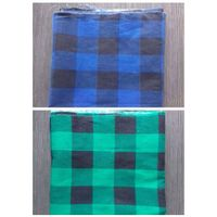Blue and Black Check Flannel