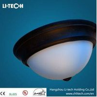 15'' 24w glass dimmable led ceiling light with cULus/Energy Star