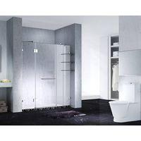 5.Fashion Design Frameless Slimline Rectangle Shower Enclosure With Pivot Door, AB 6231 thumbnail image