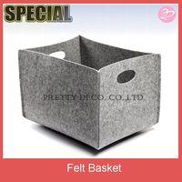 Felt foldable storage box