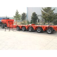 Hydraulic overweight transport multi-axle heavy haulage modular trailer manufacture for India market