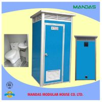 China factory prices prefabricated bathroom,outdoor portable toilet/mobile toilet/prefab toilet