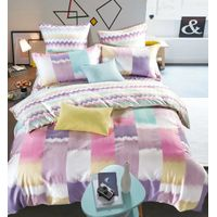 Sateen cotton bedding sets 100% sateen cotton comforter sets