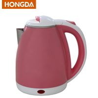 Pink colored double layer 1.8L Electric Kettle