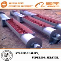 LS-type steel tube screw conveyor for goods conveying made by Shuanghuan