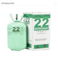 Authentic R 22 Refrigerant 10lb Cylinder Freon new