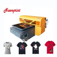 2018 Best dtg direct to garment fabric t shirt printer tee shirt printing machine NVP4880DTG
