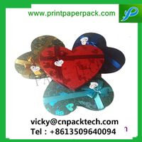 Tailored Decorative Heart-Shaped Embossing Wedding Favors Jewelry Paper Gift Packaging Boxes Handmad thumbnail image