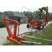 Guardrail Pile Extraction