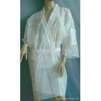 disposable bath robe