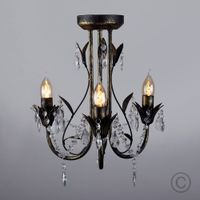 factory direct sale brushed aluminium vintage lighting modern chandelier thumbnail image