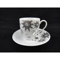 Chaozhou ceramic beautiful tea cups and saucers