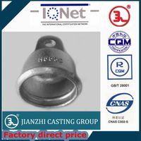 Tongue & Clevis type ductile Iron Disc Insulator caps thumbnail image