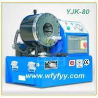 High Pressure Oil Hose Crimper YJK-80 Hydraulic Crimping Machine thumbnail image