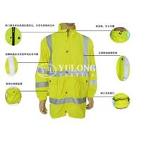YL-227# fluorescent yellow jacket