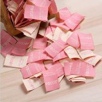 Most Popular Cheap Woven Label Tag for Sweater Clothing