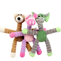 Pet dog toys with squeakers