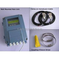 Wall mounted type ultrasonic flow meter with clamp on sensor thumbnail image