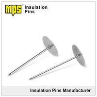 304 stainless steel self stick adhesive weld hangers Cup head insulation pin thumbnail image
