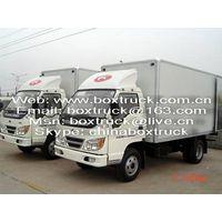 Dry Cargo Truck Body