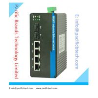 10/100/1000M Managed Industrial Ethernet Switches--- Pacific Brands Technology Limited thumbnail image