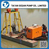 sand dredging use submersible pump dredger