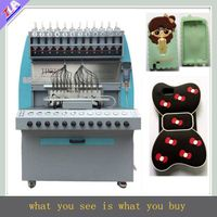 Professional and high precision silicone phone case making machine