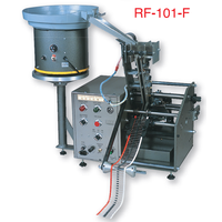 RF-101F Axial Lead Forming Machine Vertical Mount/ stand on PCB , Taped axial lead bender/cutter