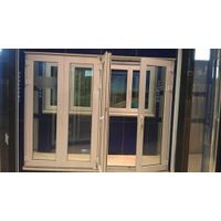 Upvc folding door supplier from China