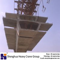 Factory directly supply double beam segment overhead launching gantry for bridge construction