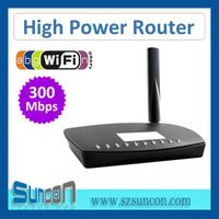 802.11a/b/g/n 300mbps High Power Router thumbnail image