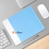 shenzhen factory creative white acrylic mouse pad for computer