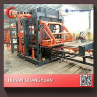 Top!Top! High Capacity Multi-function Automatic hydraulic concrete fence block machineGYM-QT8