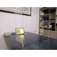 acrylic islation board desk dividers virus proection